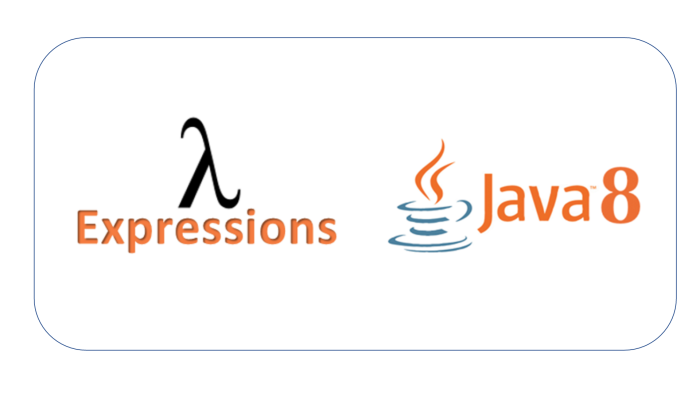 Lambda Expression ( a new extension of Java 8 )